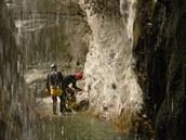 Rodinný canyoning pod San Martino di Castrozza