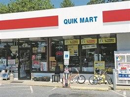 Obchod, kde Kiska pracoval, se dnes jmenuje Quik Mart.