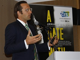 Shawn DuBravac, hlavní ekonom CEA, pořádající agentury veletrhu CES