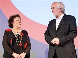 Josef Abrhám převzal zvláštní cenu za své komediální role na festivalu...