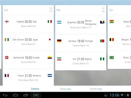 Díky oficiální aplikaci FIFA budete vědět o fotbalovém mistrovství světa v...