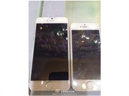 iPhone 6 ve spole�nosti aktu�ln�ho modelu 5s