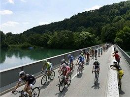 Pátá etapa závodu Kolem Švýcarska vyvrcholila až v hromadném spurtu.