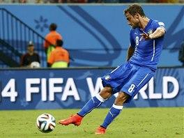 Italský záložník Claudio Marchisio