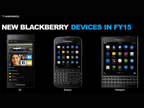 Chystané novinky BlackBerry: Passport a Classic