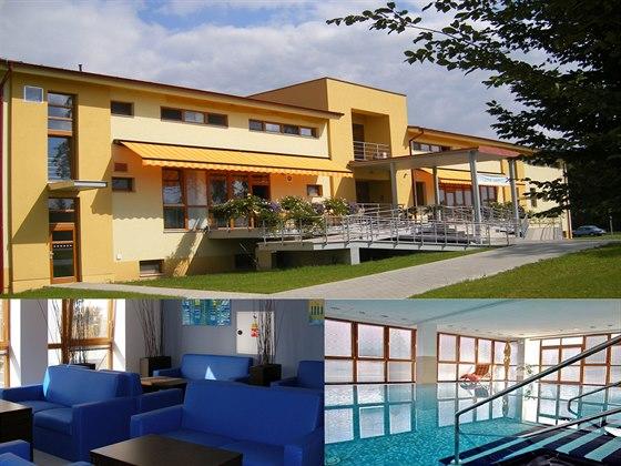 Součástí lázeňského zařízení v Lednici je i rehabilitační bazén.