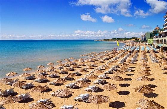 Slunečné pobřeží patří k nejoblíbenějším letoviskům v Bulharsku.