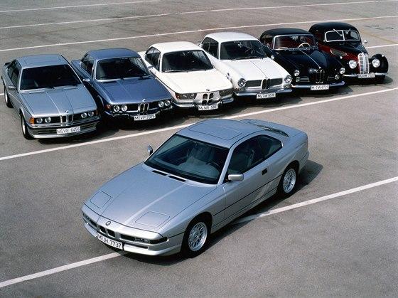 BMW �ady 8 a jeho p�edch�dci