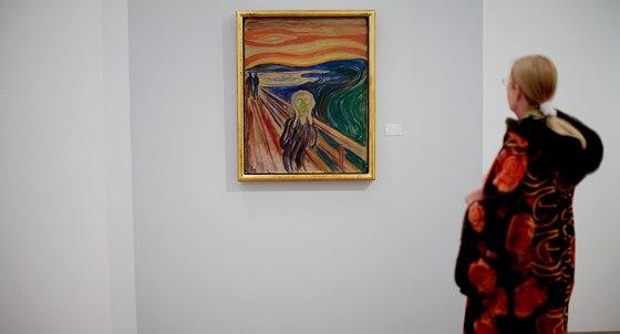 Munchův výkřik se nakonec do Osla vrátil, i když poškozený.