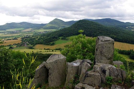 Lipsk� hora z vrchu Ostr�