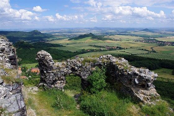 V�hled z hradu Olt���k