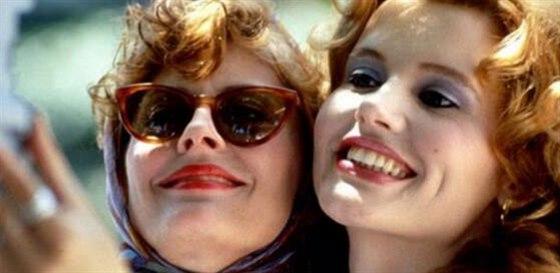Thelma a Louise si dělaly selfie už v roce 1991