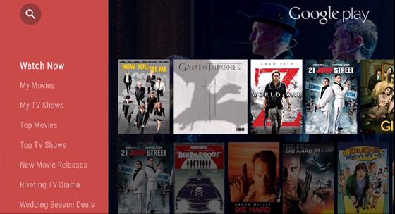 Google TV je p�izp�soben� ovl�d�n� z gau�e - a to pomoc� hlasu, mobilu, tabletu...