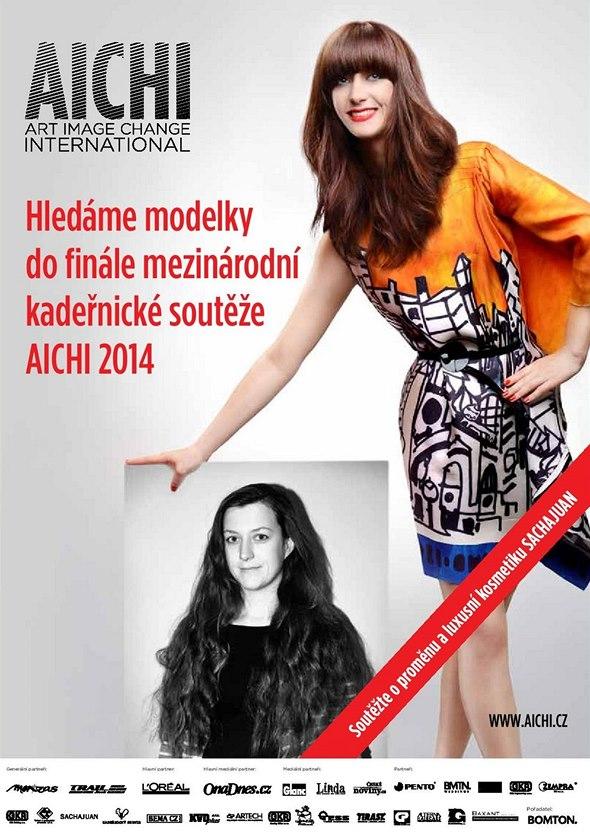 Hledáme modelky do finále mezinárodní kadeřnické soutěže AICHI 2014