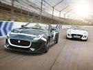 Auto je poctou d�vn�mu a slavn�mu Jaguaru D-Type, kter� sedmkr�t triumfoval v...