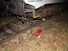 Mladíci z Německa řádili ve vlakovém depu ve Vysočanech. Hasícími přístroji zde...