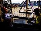 Originální hodinový stroj z doby Rudolfa II. se po dvouleté rekonstrukci začal...