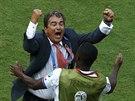 Muž, za kterým stojí úspěch. Kolumbijský kouč Jorge Luis Pinto dovedl Kostariku...
