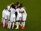 Hráči Hondurasu se hecují před zápasem s Ekvádorem