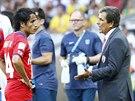 Luis Pinto ud�l� hr���m taktick� pokyny
