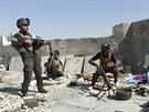 U irácké Sámary se shromažďují jednotky irácké armády a připravují protiútok...