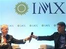 Jeden z těch, co naletěli: Michael Dolan, výkonný ředitel IMG Worldwide, a Eike