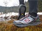 Protisměrný vzorek podrážky vám dává v přední části boty jistotu při výbězích a