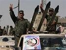 Milice Mahdi jsou dob�e vyzbrojen� (21. �ervna 2014).