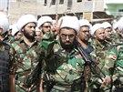 Milice Mahdi tvo�� dobroln�ci odhodlan� bojovat proti radik�l�m z ISIL (21....