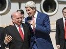 Šéf americké diplomacie John Kerry by rád Kurdy přesvědčil, aby spolupracovali...