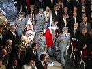 Slavnostní shromáždění při příležitosti 100. výročí zahájení první světové...