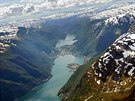 Druhé rameno fjordu Hardanger