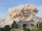 ��zen� demolice v�robn�ch hal OP Prost�jov (28. �ervna 2014)