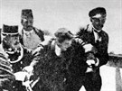 Zadr�en� atent�tn�ka Gavrilo Principa