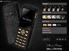 Nejen tělo telefonu může být ze zlata, zákazník si může zvolit i materiál...