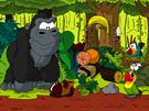 Staň se strážcem pralesa Víte, čím se živí gorily?