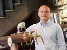 Spolumajitel brněnských pivnic Na stojáka Robert Smejkal preferuje piva z...