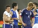 BOD JE MÁLO. Japonci litují nevyužité přesilovky v utkání proti Řecku.