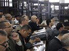 Soud s novináři stanice al-Džazíra (23. června 2014)