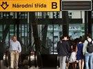 V p�l t�et� zastavil v rekonstruovan� stanici metra N�rodn� t��da po dvou...