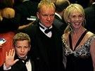 Sting s manželkou a synem (listopad 2006)