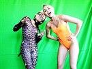 Miley Cyrusová se čtrnáctiletou sestrou Noah