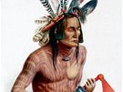 Z knihy Dějiny tetování: Indiáni Severní Ameriky se nejen malovali, ale i