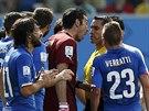 PROČ, PROČ? Gianluigi Buffon jako kapitán italské fotbalové reprezentace