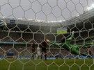Německo právě na mistrovství světa dává gól do brány USA.