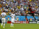 Německý ofenzivní univerzál Thomas Müller se raduje ze vstřeleného gólu.