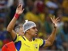 PO OŠETŘENÍ. Ekvádorec Cristian Noboa se hlásí do hry poté, co mu lékaři...