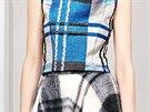 Kostkovaný vzor: Christian Dior