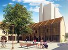 Společnost Zemský pivovar chce v areálu Dominikánského dvora v Braníce obnovit...