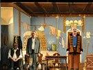 Hra Záskok v Divadle Járy Cimrmana
